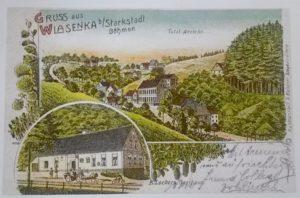 Obec Wlasenka na přelomu 19. a 20. století
